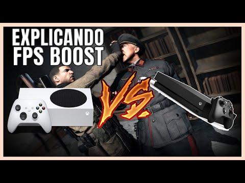 XBOX SERIES S FPS BOOST COMPARADO AO XBOX ONE X