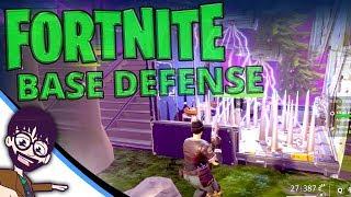 Fortnite - Pro base defense detailed guide (funneling & mazing)
