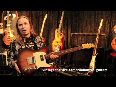 Ruokangas Guitars / Frankfurt Show 2011 / Vintage&RareTV
