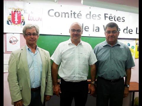Luçon : Didier Lesage prend la présidence du Comité des fêtes