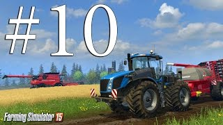 Farming Simulator 15 ч10 - Работа для коров