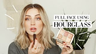 Full Face Using HOURGLASS COSMETICS #FFF