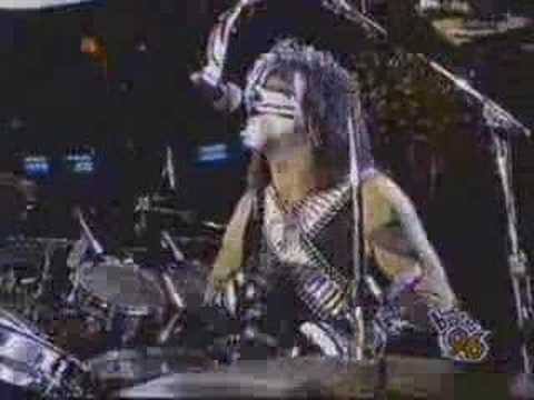 Kiss - I Wanna Rock N Roll All Night - 1996 video