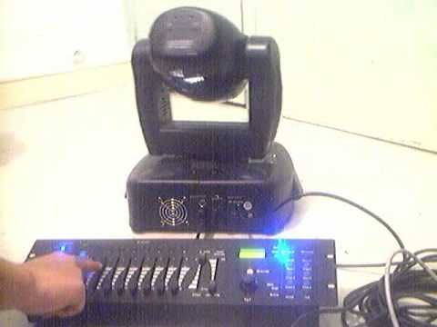 Lyre DMX Galaxy 250 ( Moving Head ) 2