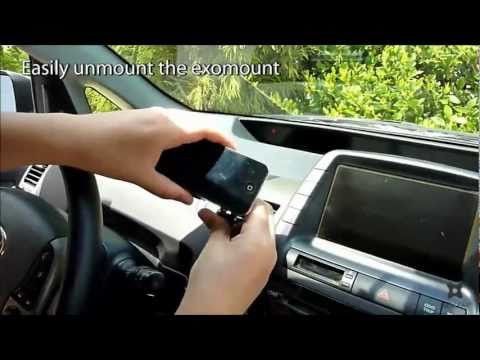 EXOGEAR exomount universal car mount
