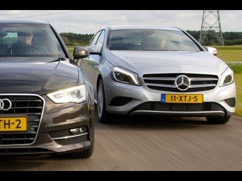 Audi A3 vs. Mercedes-Benz A-klasse (English subtitled)
