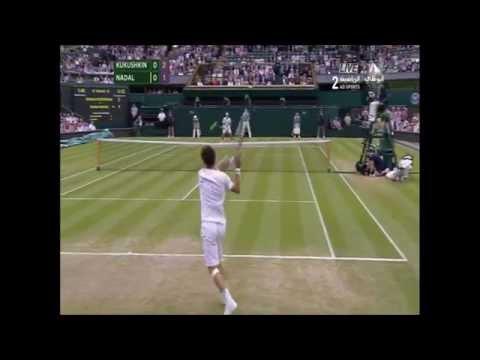 Nadal vs Kukushkin Highlights [HD] Wimbledon 2014 Highlights