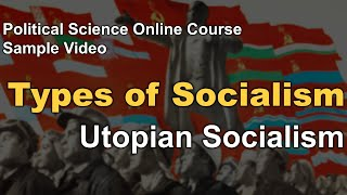 Types of Socialism - Political Science Online Course NTA NET and UPSC PSIR Optional (in Hindi)