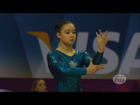 Olympic Qualifications London 2012 -- Victoria MOORS (CAN) - FX