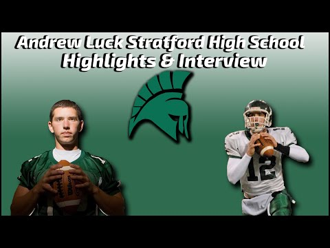 Andrew Luck - High School Highlights/Interview - Sports Stars of Tomorrow