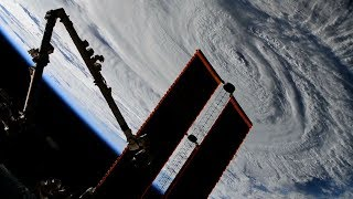 Landfall of Hurricane Florence From Space