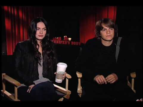 Jennifer's Body- Megan Fox and Johnny Simmons Interview