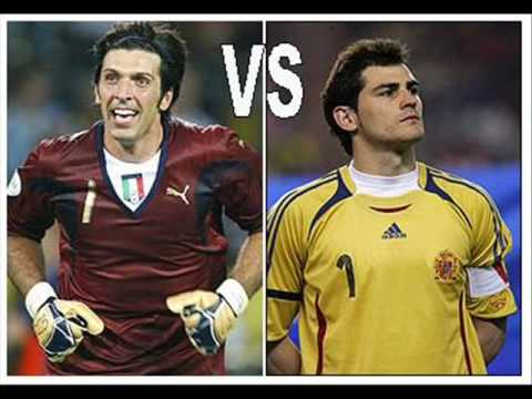 Casillas vs Buffon