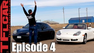 Porsche 911 vs Porsche Boxster S Comparison & Drag Race -  Project Porsche Ep. 4