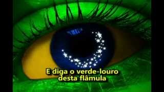 HINO NACIONAL BRASILEIRO OFICIAL - ILUSTRADO E LEGENDADO (27º BPM/M)