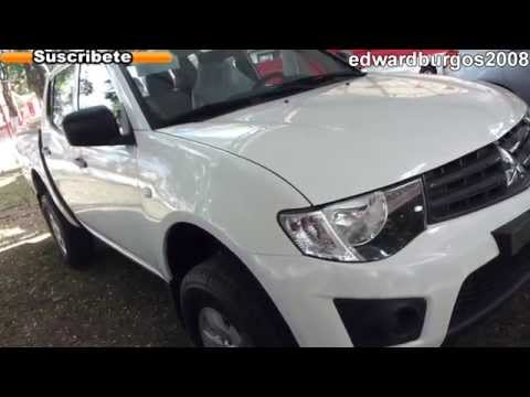 2013 mitsubishi l200 modelo 2013 al 2014 video review colombia bogota