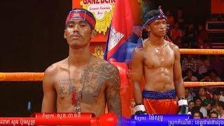 Soun Channy Vs (Thai) Maisut Pele, MyTV Boxing, 01/June/2018 | Khmer Boxing Highlights