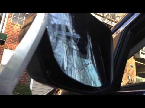 Honda CRV Side View Mirror Repair