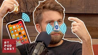 Gavin Creates the Bluetooth Nose - RT Podcast