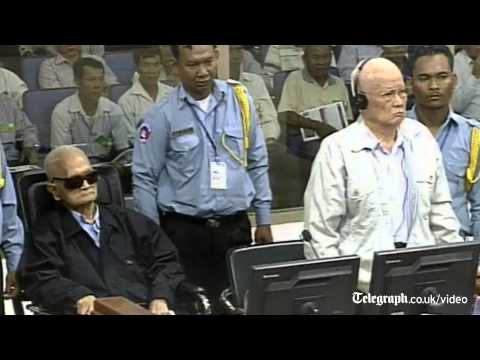 Khmer Rouge leaders sentenced to life in prison