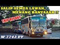 TRIP - SUPIR MIRA MARAH DISALIP W 7743 UY !! EEEH TERNYATA DIA SALAH SASARAN, JADI MALU DEH WKWKWK