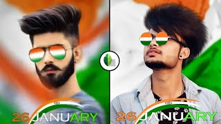 26 January special photo editing   Republic Day photo editing   Snapseed editing   SAMIM EDITZ