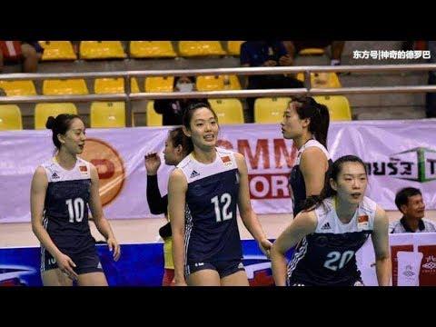 创纪录!刘晏含42分太恐怖,这一刻她是中国女排的另一个朱婷 #1