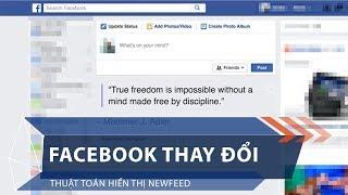 Facebook thay đổi thuật toán hiển thị newfeed | VTC1