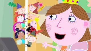 Ben and Holly's Little Kingdom   Fun Time at Lucy's Birthday party!  1Hour   HD Cartoons for Kids