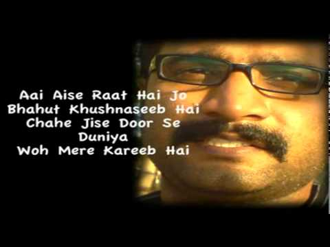 Aankhon Mein Teri Ajab Si Ajab Si  Hindi Karaoke By Ar video