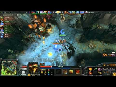 Wombo Combo The Alliance vs AS Game 2  joinDOTA Masters Semifinal  TobiWanDOTA braxlikesdota