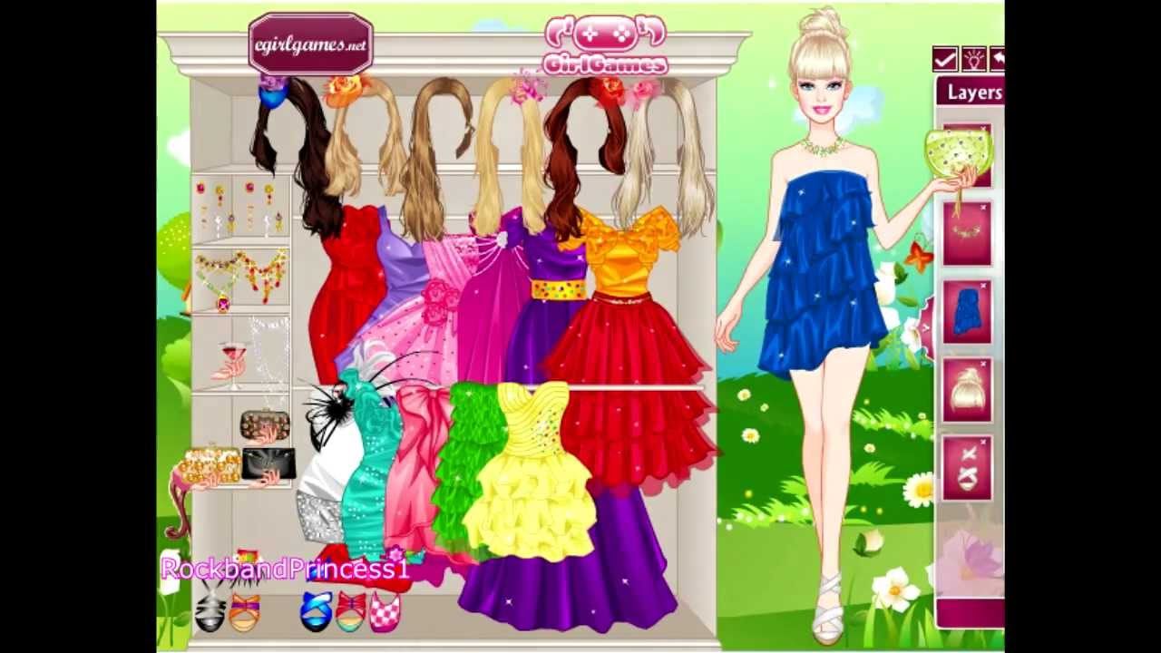 please can i play barbie games dress up games