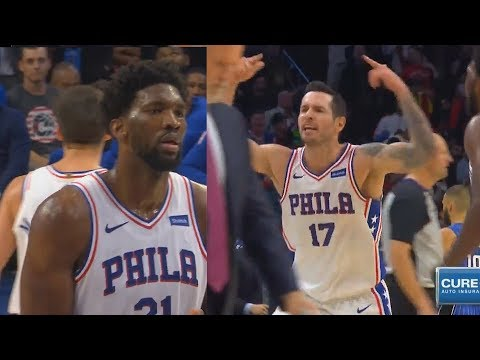 Joel Embiid Chokes Then JJ Redick Saves Him With Game Winner in Final Minutes! Sixers vs Magic