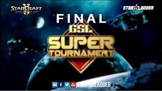 2018 GSL Super Tournament Season 1, Final: Dark (Z) vs Stats (P)