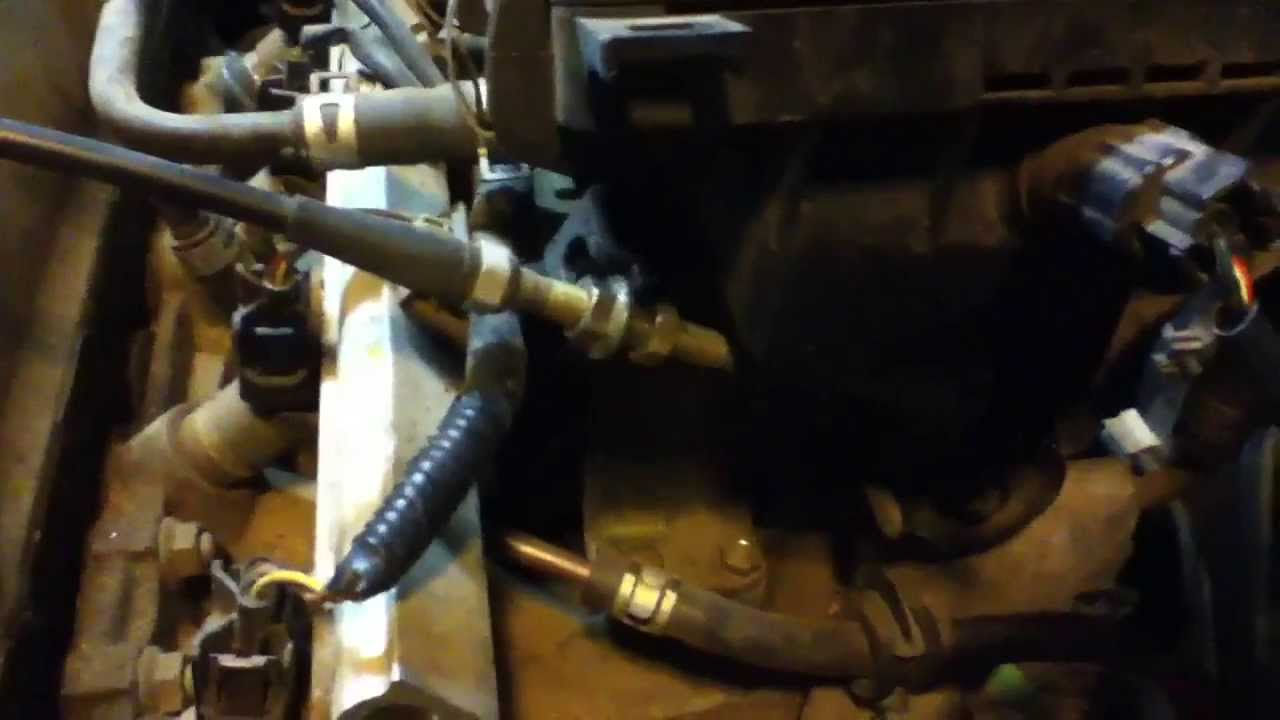 1996 Honda Civic Dx Throttle Cable Tightening Youtube