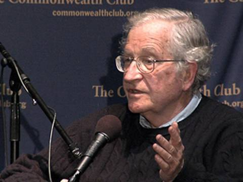 Noam Chomsky: Big Business Dictates the Presidency