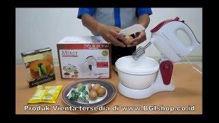 Vienta - Membuat Chiffon Pandan Cake dengan Vienta Smart Cooker dan Vienta Mixer