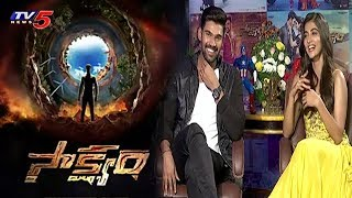 Bellamkonda Srinivas and Pooja Hegde Exclusive Interview about 'Saakshyam' Movie | TV5