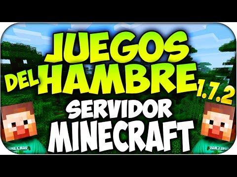 Minecraft Server Juegos Del Hambre - 1.7.2 / 1.6.4 No Premium (Hunger Games) Sin