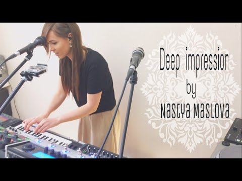 Boss RC-505 - Live looping by Nastya Maslova - Deep Impression