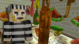 Minecraft Xbox - Cops and Robbers - The Refrigerator