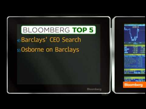 Barclays CEO Quits, JPM Bet, Stocks Rally