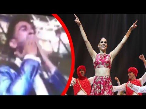 Ranveer Singh Flying Kiss To Deepika Padukone At IIFA Awards 2016