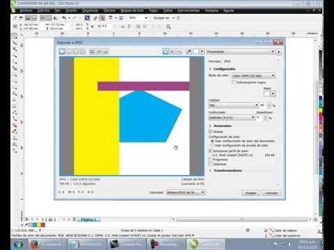 Corel Draw X6 - Solución a las limitaciones, modo de visualizacion, etc