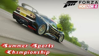 Forza Horizon 4 - Summer Sports Championship