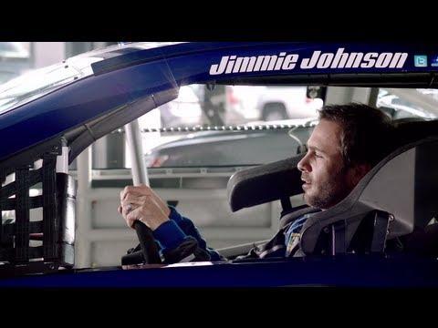 Love the new car smell (NASCAR)