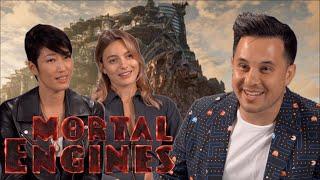 JIHAE & LAYLA GEORGE talk MORTAL ENGINES | Jayden Rodrigues JROD