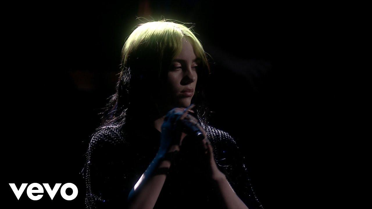 """Billie Eilish - 「BRIT Awards 2020」から""""No Time To Die""""のライブ映像を公開 thm Music info Clip"""