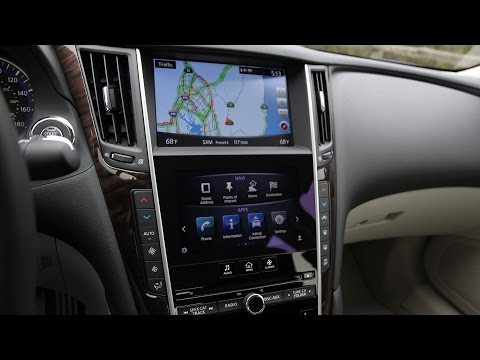 2015 / 2016 Infiniti Q50 InTouch 2-Screen Infotainment and Navigation Review