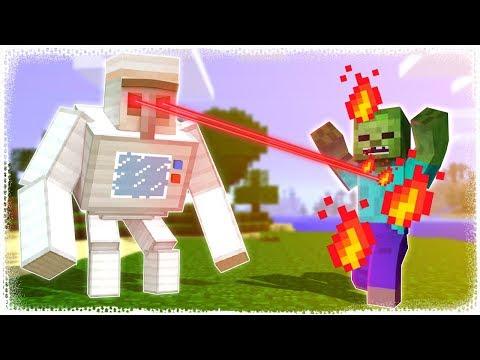 KORUYUCU GOLEM | Minecraft ZoR MoD #9